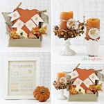 Fall Decor and Free Printable