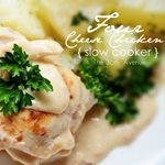Four Cheese { Slow Cooker } Chicken from the36thavenue.com