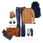 Comfortable Fall Fashion Outfits by the36thavenue.com