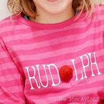 DIY Rudolph T-Shirt Tutorial by the36thavenue.com