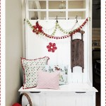 Christmas Entryway, Party, and Giveaway!