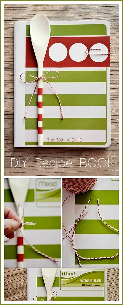 Recipe Book Tutorial