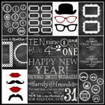Free Nre Year's Eve Kit Printables by the36thavenue.com