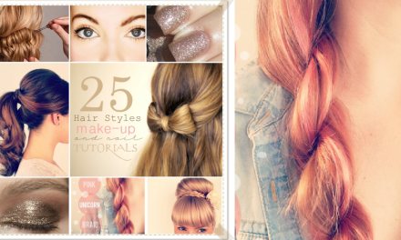 25 Hair and Makeup Tutorials