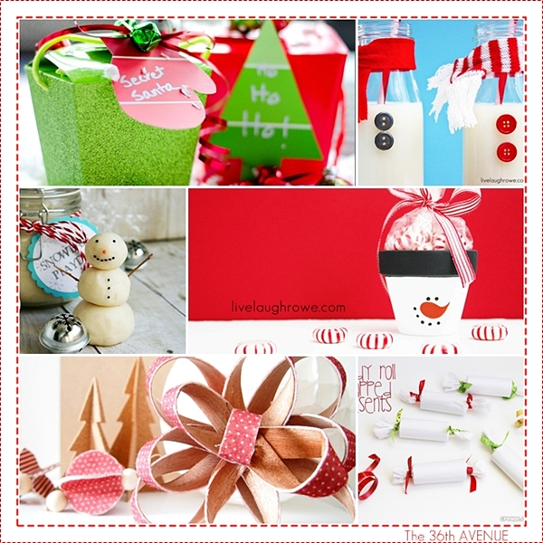 Easy DIY Christmas Crafts and Ideas over at the36thavenue.com