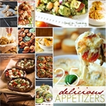 25 Delicious Appetizers over at the36thavenue.com #appetizers #recipes