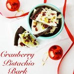 Cranberry Pistachio Bark Recipe