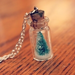 DIY Snow Globe Necklace Tutorial