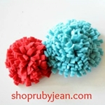 Flower Pin Tutorial by shoprubyjean.com