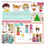 10 ADORABLE Free Christmas Printables for Kids over at the36thavenue.com