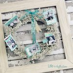 Christmas Photo Wreath and Giveaway