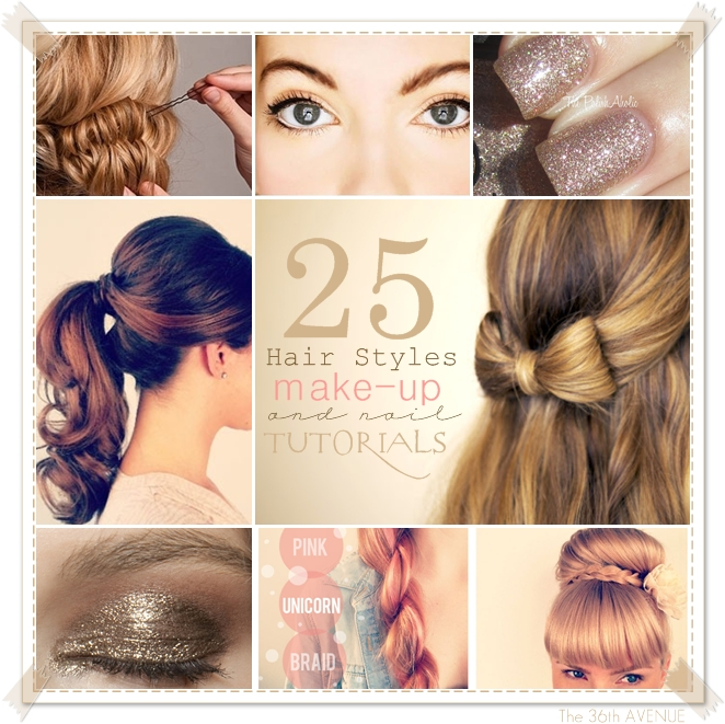 Hair and Makeup Tutorial for Photo