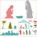 Free Nativity Printables by the36thavenue.com