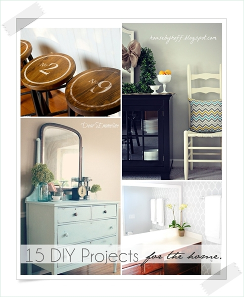 Awesome DIY Projects for the Home over at the36thavenue.com