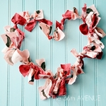Valentine Wreath by the36thavenue.com