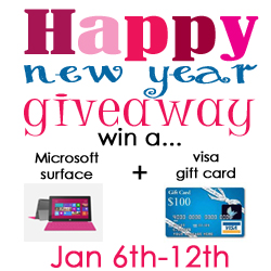 Huge New Year Giveaway the36thavenue.com
