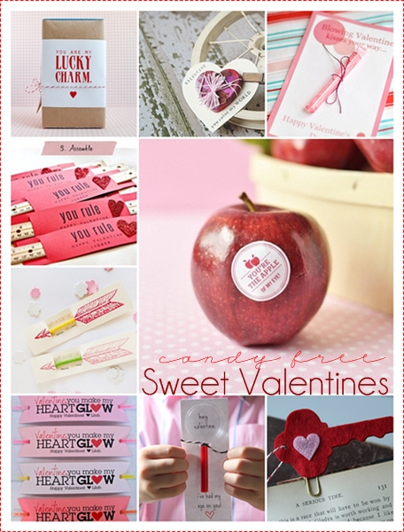 10 Handamade Valentines { candy free } over at the36thavenue.com