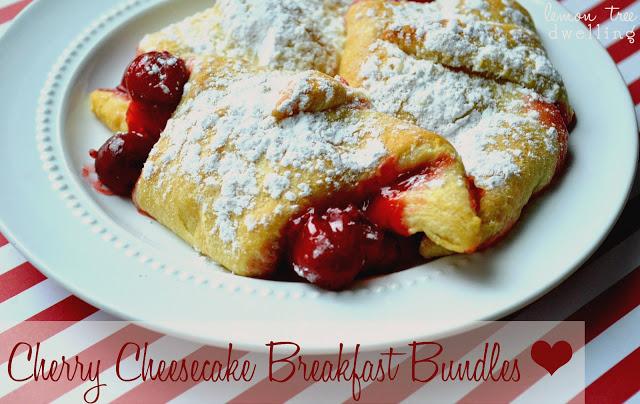 Cherry Cheesecake Breakfast Bundles