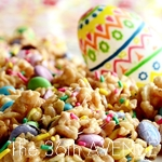 Festive Easter Rice Crispy Treats #recipes #Easter the36thavenue.com