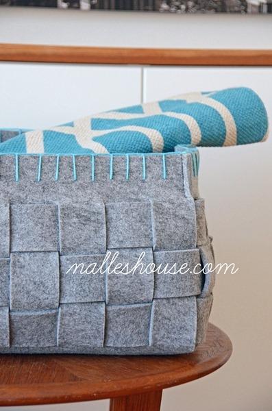 Embellished West Elm Baskets2