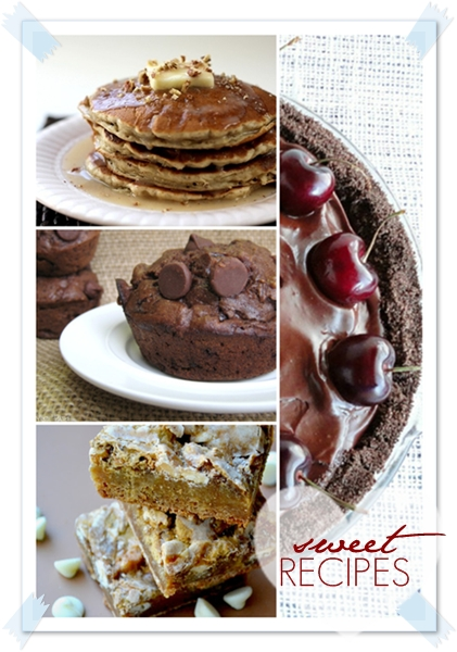 Delicious Sweet Recipes Round-UP. Yummy! #recipes #desserts the36thavenue.com
