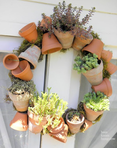 pot wreath original