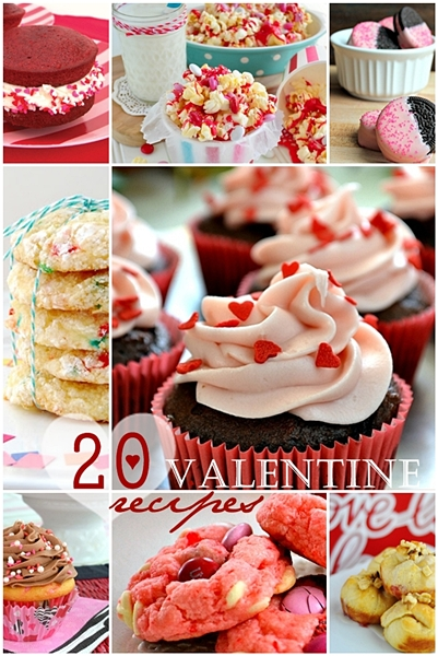 20 Valentine Recipes over at the36thavenue.com