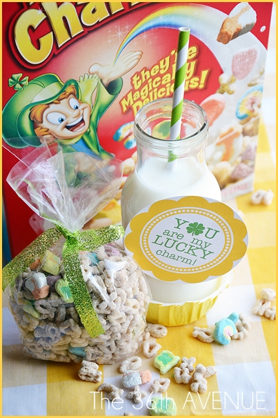 St. Patrick's Day Breakfast and free printable. the36thavenue.com