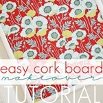 DIY Cork Board Tutorial