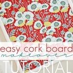DIY Cork Board Tutorial