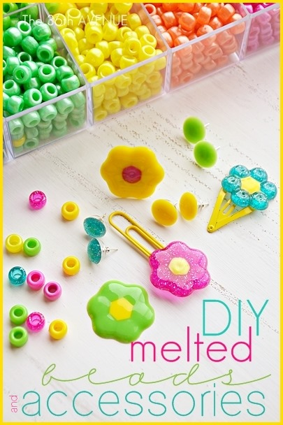 melted-bead-flowers