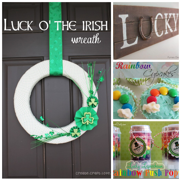 25 St. Patrick's Day LUCKY Ideas... Great recipes, decorations, and crafts. the36thavenue.com