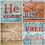 He Is Risen Printables