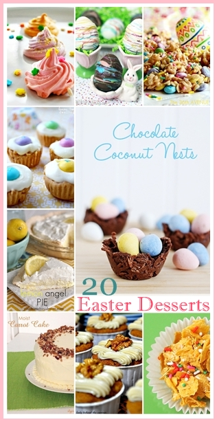 20 Delicious Easter Desserts... Yummy! the36thavenue.com