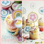Free Easter Toppers Printable. the36thavenue.com