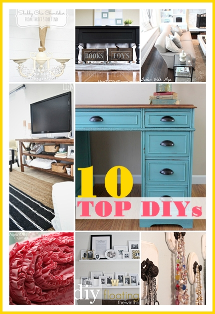 Top 10 DIY Projects for the Home.