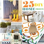 25 DIY Projects for the Home. the36thavenue.com