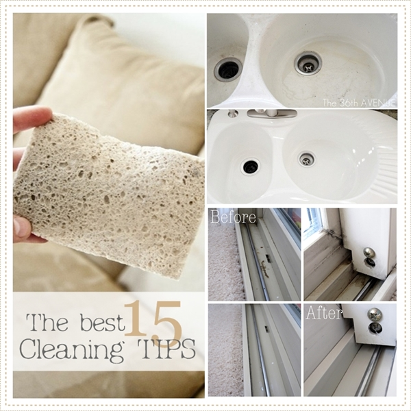 10 AMAZING Cleaning Tips and Tricks that will make your cleaning a lot easier.  the36thavenue.com