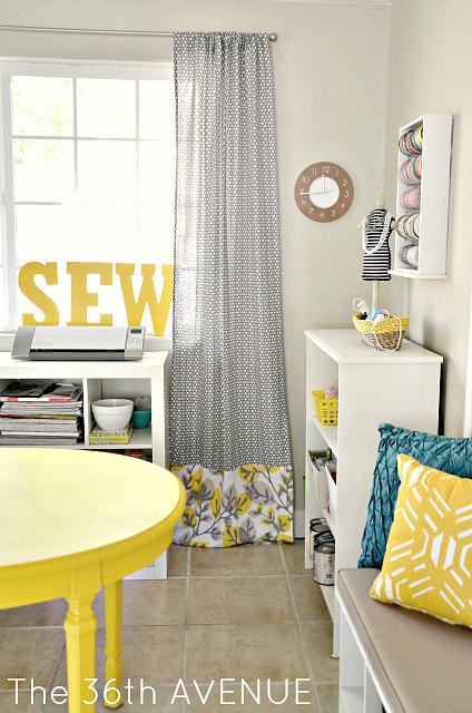 DIY Craft Room Decor - The 36th AVENUE