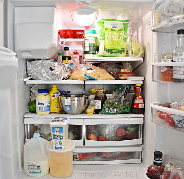 the 36th avenue how to clean a fridge the 36th avenue. Black Bedroom Furniture Sets. Home Design Ideas