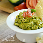 Easy and Delicious Guacamole Recipe by the36thavenue.com