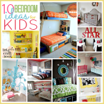 10 Amazing Bedrooms for kids and tons of decor ideas... ADORABLE! the36thavenue.com