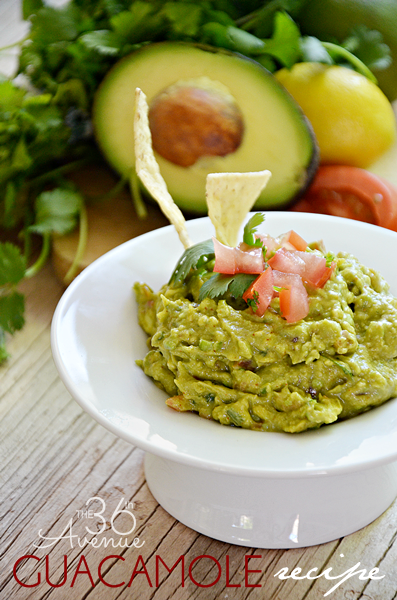 The Perfect Guacamole Recipe by the36thavenue.com ... Pin it, make it, and enjoy it!