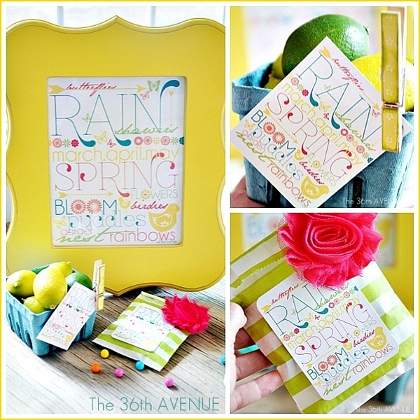 Free Spring Printable Download over at the36thavenue.com Happy Spring!