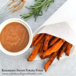 Rosemary Sweet Potato Fries and Secret Sauce