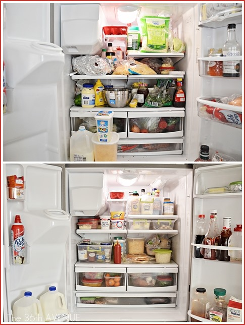 How to clean a fridge and keep it CLEAN.  the36thavenue.com
