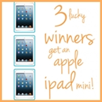 3 Apple i-pad Giveaway