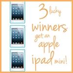 3 Apple i-pad Giveaway