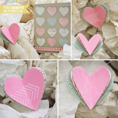 lifereflection_heart garland and card_2