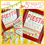 Fiesta Party Kit Printable